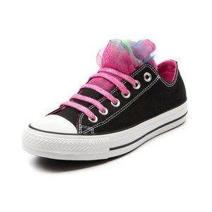 Converse 6M 8W Shoe All Star CT Party Ox Pink Lace